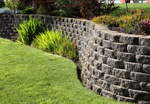 ST Concrete Contracting Keystone Retaining Wall